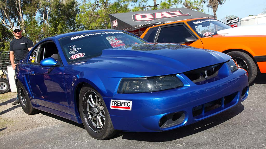 Anthony Heard's 9-Second 1999 Mustang