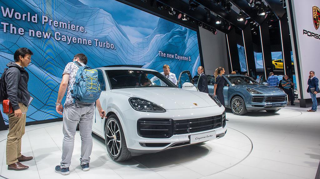 TREMEC-Porsche-Frankfurt-IAA-2017