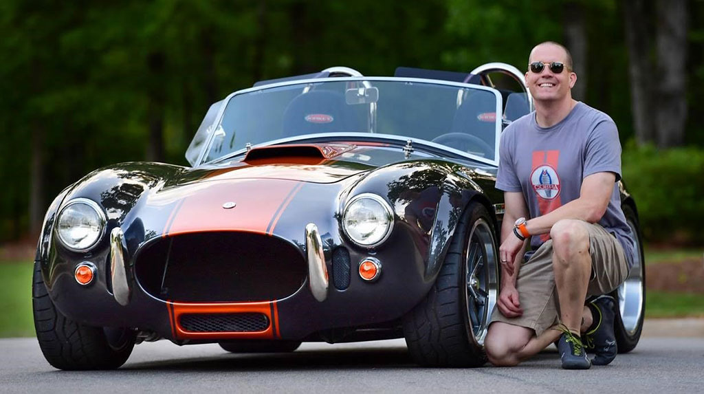 Scott Spencer's Factory Five Cobra – TREMEC Blog: Get Connected