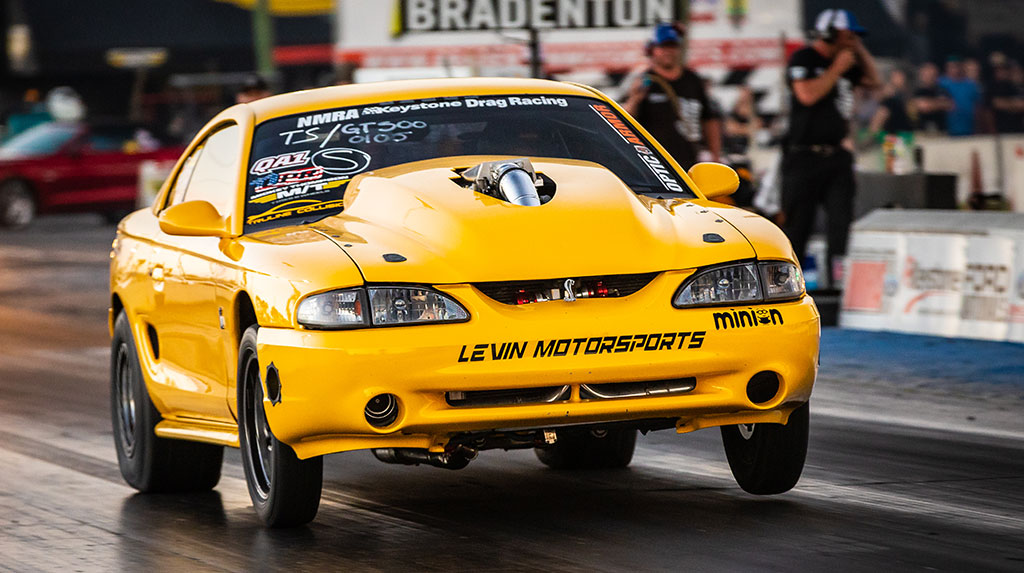 TREMEC Stick Shift Shootout Winner, Yandro Ulloa's 1996 SVT Cobra Mustang