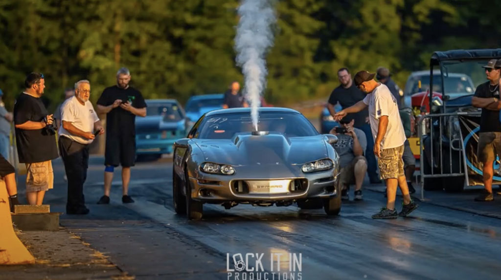 Fastest H-Pattern Stick-Shift LS-Powered Nitrous Car