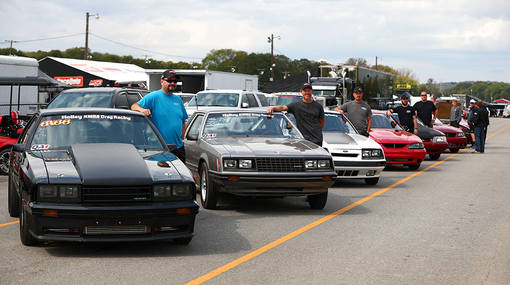 Drag Racing Action from the TREMEC Stick Shift Shootout