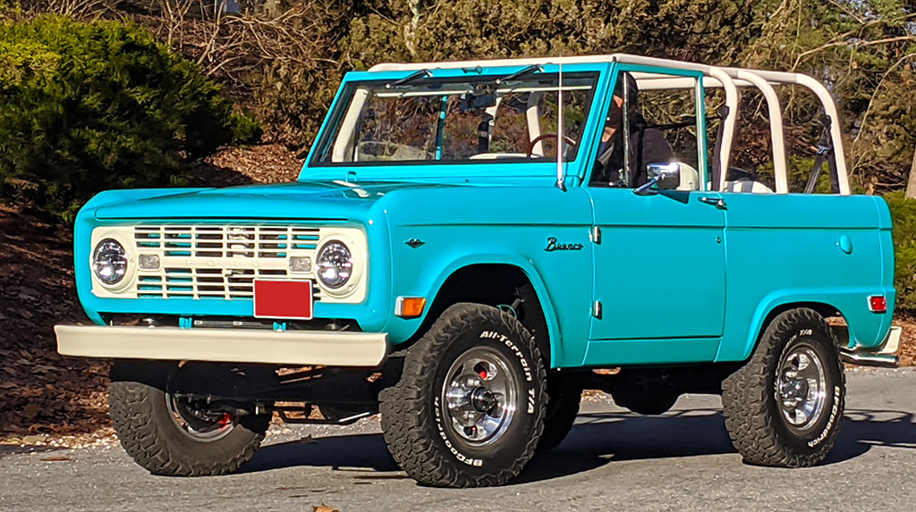This 1968 Ford Bronco has a Coyote V8 and TREMEC 5-speed