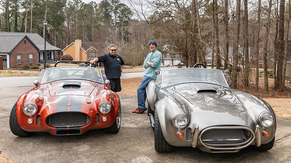 Two TREMEC-Equipped Factory Five Racing Roadsters