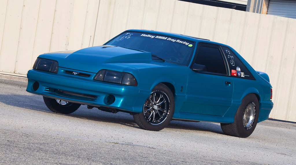 TREMEC Stick Shift Shootout Competitor Jon Whitaker's 1993 Cobra Mustang